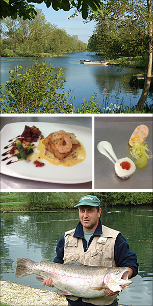 lechlade and bushyleaze trout fishery trout recipes cooking cookery school learn to fish